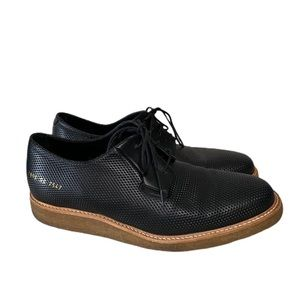 Common Projects Italian Leather Derby Shoes